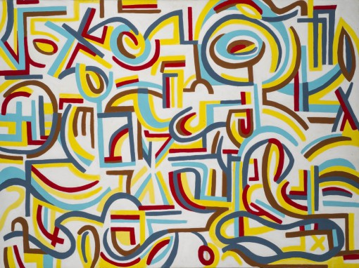 yipes,stripes36x48