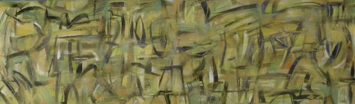 Jungle Phone 11×35 Oil on paper